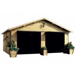 casetta in legno Box auto...