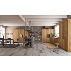 cucina  in legno vecchio...