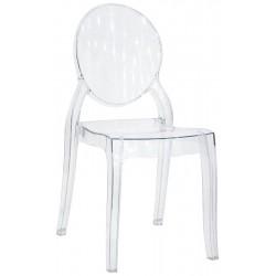sedia policarbonato art. 3136